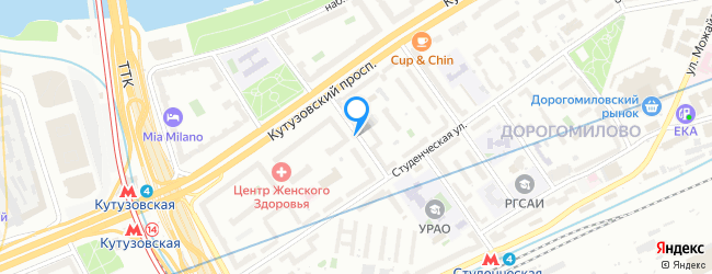 Кутузовский переулок