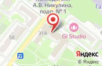 Схема проезда до компании Сервис-Электро в Подольске
