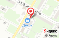 Схема проезда до компании Дикси в Подольске