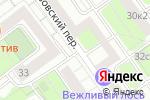 Схема проезда до компании Pinacci в Москве