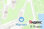 Схема проезда до компании Беркана в Москве