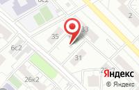 Схема проезда до компании Дэкс в Москве