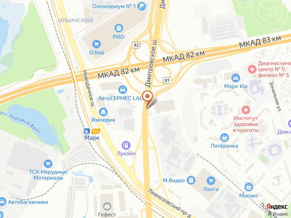 Остановка Платф. Марк в Москве