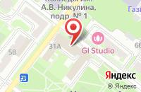 Схема проезда до компании Бизнес-Баланс в Подольске