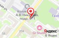 Схема проезда до компании Комиссионный магазин в Подольске