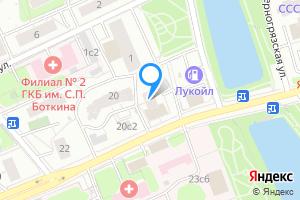 Однокомнатная квартира в Москве Шмитовский проезд, 18