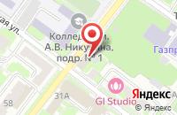 Схема проезда до компании Зелёновский в Подольске