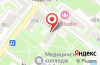 Схема проезда до компании Медиа Юг в Подольске