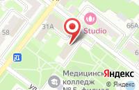 Схема проезда до компании Дипломы в Москве в Подольске
