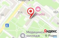 Схема проезда до компании Podolsk Media в Подольске