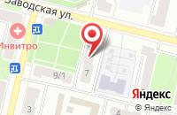 Схема проезда до компании Гармония в Климовске