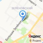 Магазин кондитерской продукции на карте Подольска