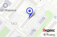 Схема проезда до компании НОРТ 31 в Москве
