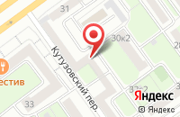 Схема проезда до компании Сантариус-А в Москве