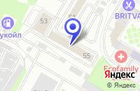 Схема проезда до компании МЕДИЦИНСКИЙ ЦЕНТР ТЕСА в Москве