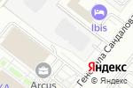 Схема проезда до компании Шиномонтаж на Ленинградском проспекте в Москве