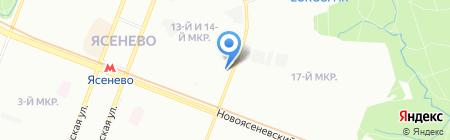 Правовая крепость на карте Москвы