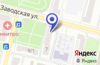 Схема проезда до компании ПТФ ЭЛИНС в Климовске