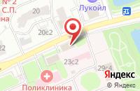 Схема проезда до компании Центрснаб в Москве