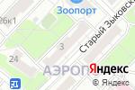 Схема проезда до компании Страна Кожи в Москве