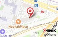 Схема проезда до компании Мусат в Москве