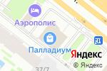 Схема проезда до компании Ткани ЦСКА в Москве