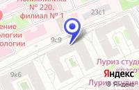 Схема проезда до компании АВТОСЕРВИСНЫЙ ЦЕНТР CHIPSAWAY в Москве