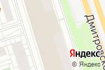 Схема проезда до компании Технология окраски в Москве