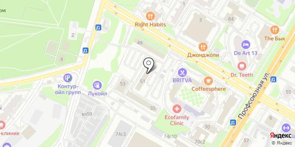 ТрансСервисСтрой. Схема проезда в Москве