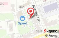 Схема проезда до компании Китеж в Подольске