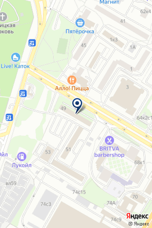 АВИАМАРКЕТ на карте Москвы