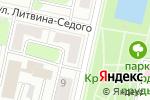 Схема проезда до компании Краснопресненские пруды в Москве