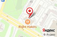 Схема проезда до компании Нордлайн в Москве