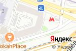 Схема проезда до компании ДЮСШ №75 в Москве