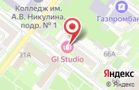 Схема проезда до компании РОКОКО в Подольске