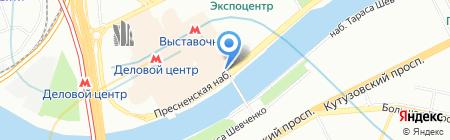 Пегас на карте Москвы