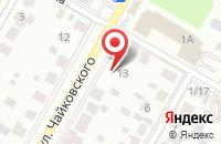Схема проезда до компании Страйк в Подольске