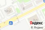 Схема проезда до компании Компания Хламовозофф в Москве