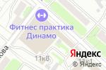 Схема проезда до компании ANGEL в Москве
