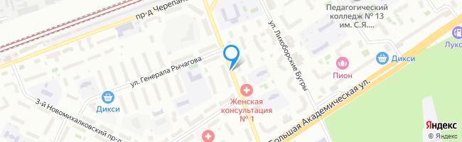 проезд Новомихалковский 4-й