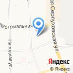 Незабудка на карте Подольска