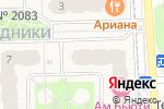 Схема проезда до компании Формула уюта в Москве