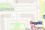 Схема проезда до компании Iris в Москве