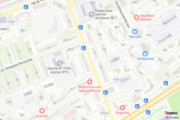 Ремонт телевизоров 4 й Новомихалковский проезд на яндекс карте