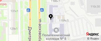 Магазин автоэмалей и автохимии на карте Москвы