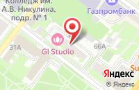 Схема проезда до компании АКИБ ОБРАЗОВАНИЕ в Подольске