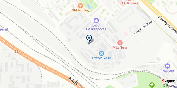 ТАПКО-М на карте Москве