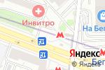 Схема проезда до компании Магазин фастфудной продукции на Хорошёвском шоссе в Москве