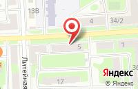 Схема проезда до компании ПМК-88 в Подольске