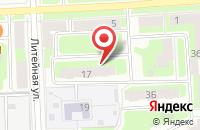 Схема проезда до компании Amway в Подольске
